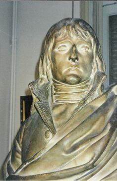 Napoléon Bonaparte, French consul. 102 sculpture by Charles Louis Corbet (1758-1808) Musée Massena, Nice. Photo Lillemor Brink 1996.