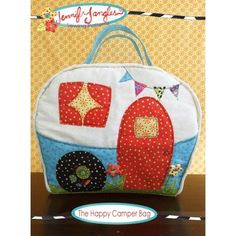 Happy Camper Bag Sewing Pattern | Jennifer Jangles