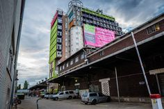 mill junction container residences overlook johannesburg designboom