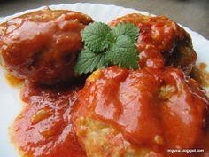 Kuchnia moją przyjaciółką: Gołąbki po poznańsku z młodej kapusty Ethnic Recipes, Food, Essen, Meals, Yemek, Eten