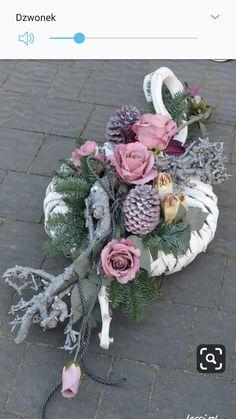 Funeral Flowers, Christmas Wreaths, Floral Wreath, Ornament, Gardening, Decor, Flower Arrangements, All Saints Day, Catalog