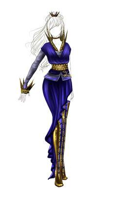 Outfit design - 34 - closed by LotusLumino.deviantart.com on @deviantART