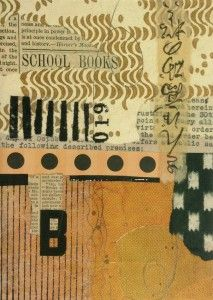 019 B is for Books 5 x 7 collage available at http://.www.elainebradysmith.com