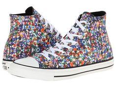 Converse Chuck Taylor® All Star® Hi Multi/White-- a nice change for a more colorful style in high tops