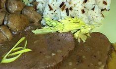 Hovězí kýta na dubácích Mashed Potatoes, Beef, Ethnic Recipes, Food, Whipped Potatoes, Meat, Smash Potatoes, Essen, Meals