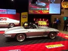 SOLD SOLD SOLD! $73,000 for this 1966 Chevrolet Corvette Convertible at Houston 2013