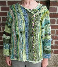 beautiful #crochet jacket
