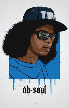 Ab Soul Art Print by bokkaboom - X-Small Dope Cartoon Art, Dope Cartoons, Ab Soul, Soul Art, Gothic Alphabet, Trill Art, Rapper Art, Hip Hop Artists, School Boy