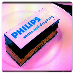 Chocolat dessert for Philips.