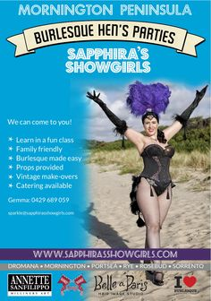 We Are Coming To The Mornington Peninsula You Can Enjoy A Burlesque Hens Party At