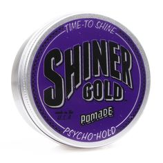 "Pomade ""Psycho Hold"" Shiner Gold"