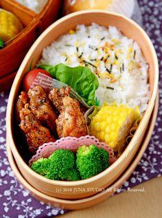 カリカリ手羽中のわさびバターのお弁当 by JUNA(神田智美)   レシピサイト「Nadia   ナディア」プロの料理を無料で検索
