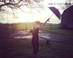Poppy Delevingne para Rag Bone DIY Project