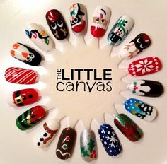 Christmas Nail Art Wheel!