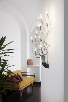 Turciù pendant and sconce on display in Los Angeles now at the Graye Annex in Hollywood!