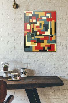 Poligonal 43 » Alexandre Reis #urbanarts #urbanartswall #arte #art #popart #poster #canvas #design #arq #decor #homedecor #homestyle #artdecor #wallart #arquitetura #architecture
