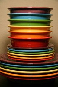 Fiestaware. Love it! I have all different colors too.
