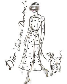 Dior. Dominó