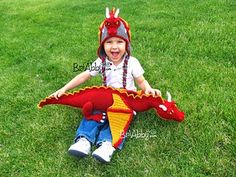 Easy and Cool Beanie and Stuffie Instructions for Kids and adults (PDF File) Crochet Dragon Hat & Stuffed Animal Toy Pattern Combo Pack. Easy and Cool Beanie and Stuffie Instru Crochet Dragon Pattern, Crochet Patterns, Hat Patterns, Crochet Ideas, Knitting Patterns, Half Double Crochet, Single Crochet, Crochet Toys, Knit Crochet
