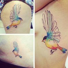Bird by Conrad Roset.