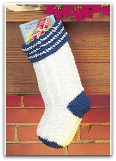 Christmas Stocking from knitting n crochet