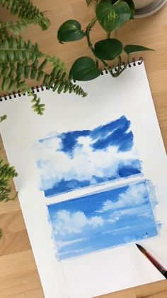 Watercolor Paintings For Beginners, Watercolor Art Lessons, Watercolor Landscape Paintings, Watercolor Techniques, Painting Lessons, Watercolor Portraits, Abstract Paintings, Oil Paintings, Easy Canvas Art