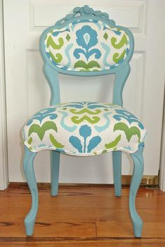 Spotted French Chair | Antique chairs