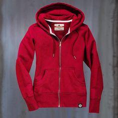 American Giant Women's Heavyweight Full Zip Hooded Sweatshirt: Remodelista Loveeee this brand