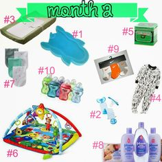 2nd Month Baby Essentials