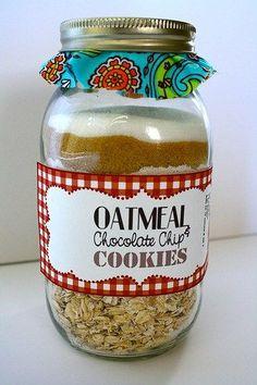 Mason Jar cookies. @behindthestudio
