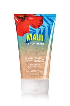 Maui Hibiscus Beach Pink Sand Body Scrub - Signature Collection - Bath & Body Works