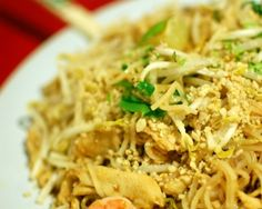 Pad Thai from ramen -- worth trying anyway