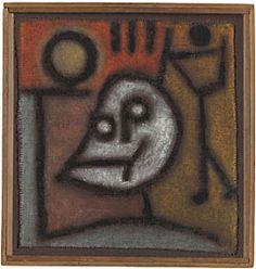 """Analisamos algumas obras de Klee, como: - """"Momento em Fruchtland"""" (1929). Aquarela e lápis sobre cartão (45,7 x 30,8 cm). Zentrum Paul Kle..."""