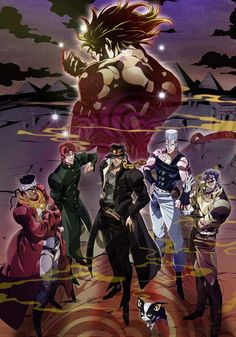 Informations : TITRE ORIGINAL : JoJo no Kimyo na Boken: Stardust Crusader Egypt-hen ANNÉE DE PRODUCTION : 2015 STUDIO : David Production GENRE : Action, Combat, Fantastique & Mythe AUTEUR : Araki Hirohiko TYPE ET DURÉE : EPS 25 mins (en cours) Synopsis...