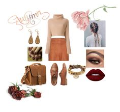 """autumn vibes"" by altrobella on Polyvore featuring Alice + Olivia, Gap, Lime Crime, Urbiana, Lizzy James, Fall, autumn, fashionset and falltrend"