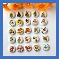 120Pcs 2 Holes Natural Wooden Decorative Buttons Clothing Mixed Sewing…