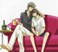 Lovers and Frineds. Usagi x Misaki. Yaoi