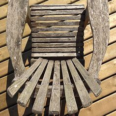 Adirondack chair - cabin life from the dock.