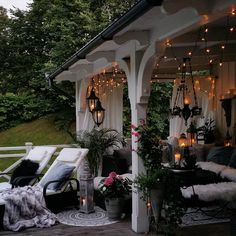Yesterday was one of those summernights to remember. I love sittning outside here in the mittle of the night just listen to… Faux Fur Blanket, Bedroom Sofa, Warm And Cozy, The Outsiders, Patio, Table Decorations, Living Room, Outdoor, Instagram