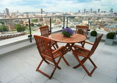 Stunning balcony image from one of our serviced apartments at Empire Square. #Marlin Empire Square near London Bridge