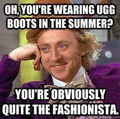 Fashionista Wonka.