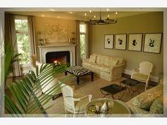 Luxury Living Room - Home and Garden Design Ideas