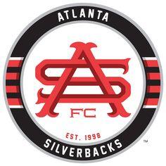 Atlanta Silverbacks New Team Logo / Crest