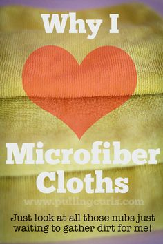 Microfiber towels have changed how I clean for the better, come find out how!  Maybe it's time for you to divorce from antibacterial wipes too! #pullingcurls