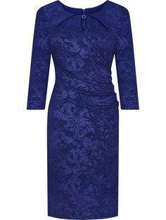 Sukienka wizytowa Elida IV, wyszczuplająca kreacja z delikatnym połyskiem. Dresses For Work, Dresses With Sleeves, Long Sleeve, Fashion, Moda, Sleeve Dresses, Long Dress Patterns, Fashion Styles, Gowns With Sleeves