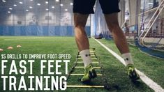 In this video, I show you 15 fast footwork exercises to increase the speed and coordination of your feet. Fast and coordinated footwork can improve your perf. Football Training Drills, Basketball Workouts, Basketball Drills, Basketball Wives, Basketball Playoffs, Speed Training Drills, Speed Drills, Basketball Shooting, Basketball Legends
