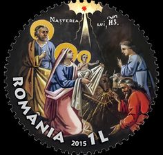 On the occasion of the Sacred Feast, Romfilatelia marks this important event for the whole of Christianity, as well as the Romanian people's culture, by the CHRISTMAS 2015 postage stamp issue. This year, the stamp of the issue depicts the image of the Birth of Jesus icon, painted by Gheorghe Tattarescu.  Dating from the 19th century, the icon of the Nativity of Jesus, created by Tattarescu, distinguishes itself by the sense of measure, the clarity of its composition