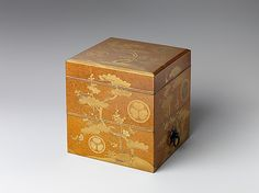 Box from a Marriage Set  Period: Edo period (1615–1868) Date: first half of the 18th century Culture: Japan Medium: Lacquer