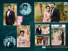 Wedding Album Cover, Wedding Album Layout, Wedding Photo Albums, Wedding Photos, Wedding Couples, Indian Wedding Album Design, Wedding Designs, Wedding Ideas, Photoshop Design