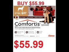 http://buydogfleamedicine.com/comfortisdiscHey guys, Kea here. My package of comfortis for my dog, MR. beans has come in. It's Rather cheap- I found a store in cananda online and got a coupon so I am sharing it with you guys through my link. You can basically get comfortis without prescription.Check it out below.http://buydogfleamedicine.com/comfortisdisc Normally, the price is around 90 bucks. I got mine from the vet for about $120 so $55 is a bargain discount! Anyhow, I don't know how long…